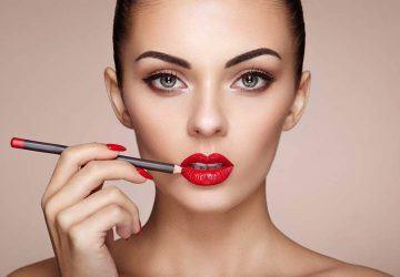 errores al maquillar los labios