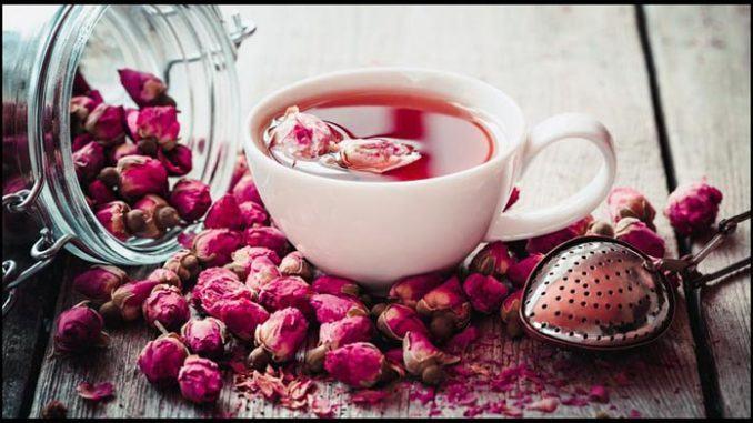 té de rosas silvestres