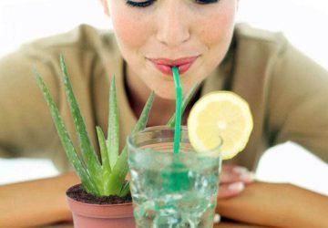 zumo natural de aloe vera