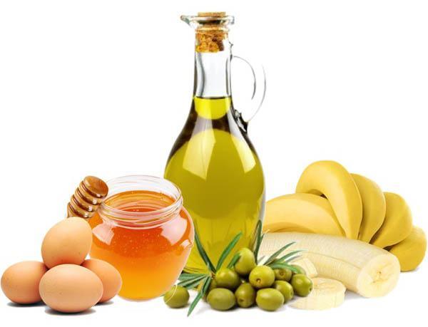 ingredientes de mascarilla casera para el pelo seco