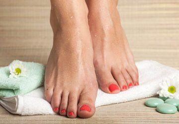 aceites naturales para los pies