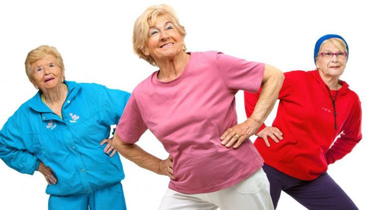 ejercicio en la tercera edad