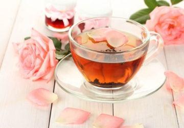 infusión de melisa y rosas