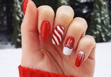 nail art para Navidad