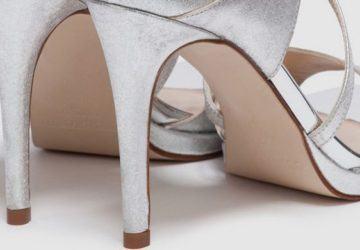 zapatos metalizados