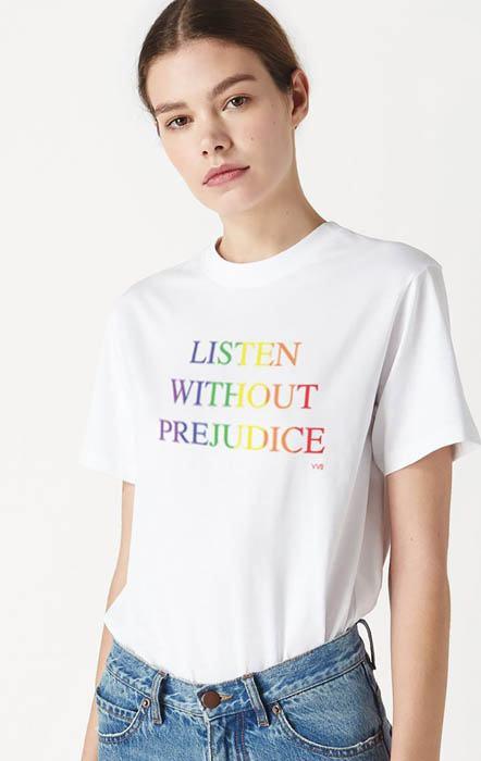 Victoria Beckham para el Día del Orgullo