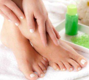 exfoliante casera para los pies