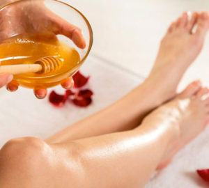 cera depilatoria a base de miel