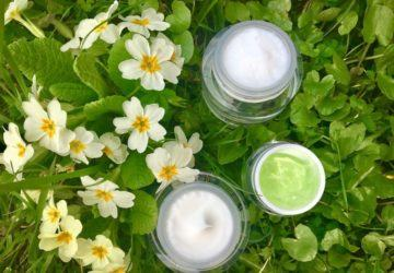 crema para la piel sensible en primavera