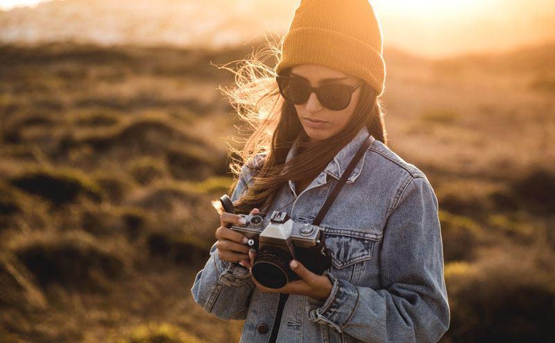 gafas de sol en otoño e invierno