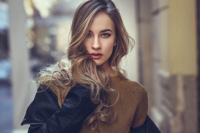 reflejos cabello otoño