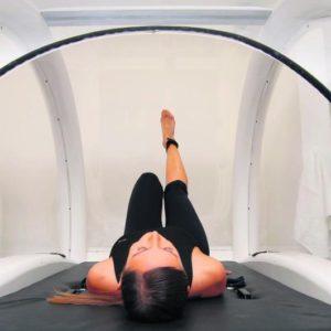 ejercicio en cápsulas térmicas