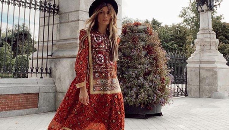 vestidos boho otoño 2020