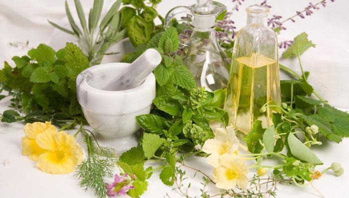 bálsamo casero con plantas medicinales