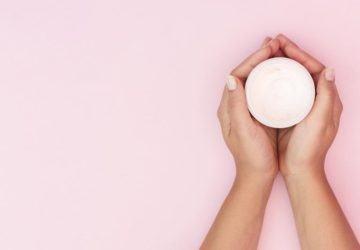 crema casera para la piel sensible