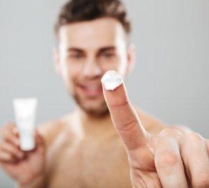 cosmética natural masculina
