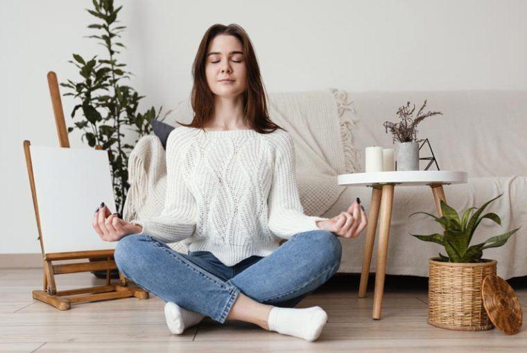 meditar en casa