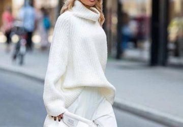 jersey de cuello cisne