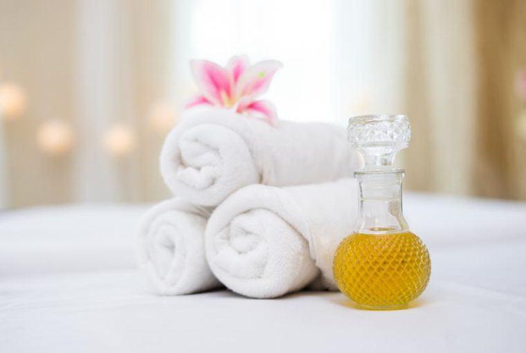 aceite casero para masajes