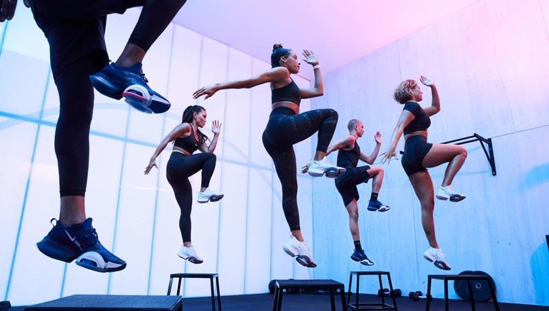 zapatillas para clases de aerobic