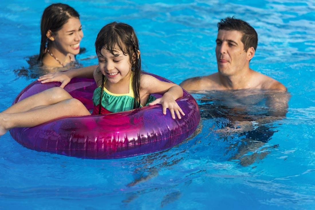 nadar en verano