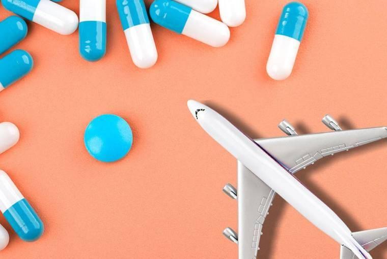 medicamentos en el equipaje de mano