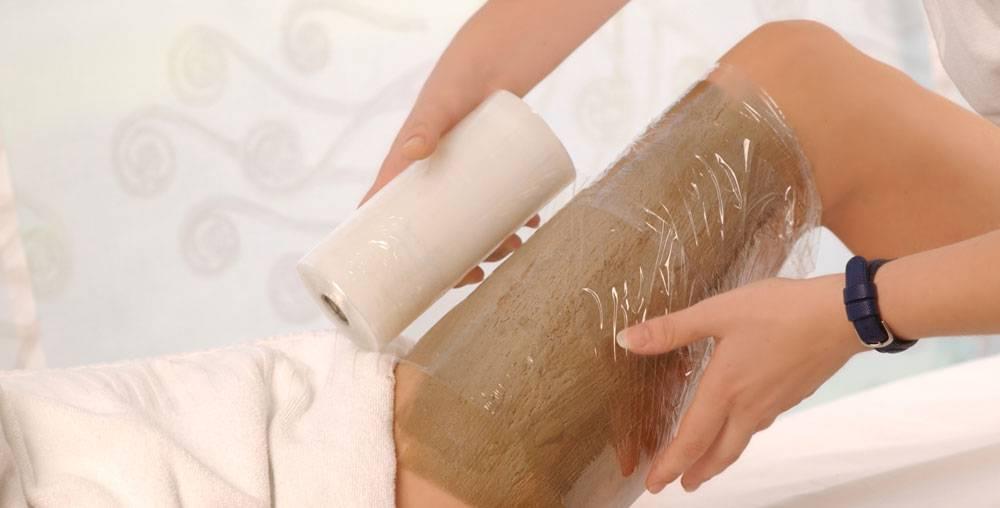 envoltura de alga fucus para la celulitis