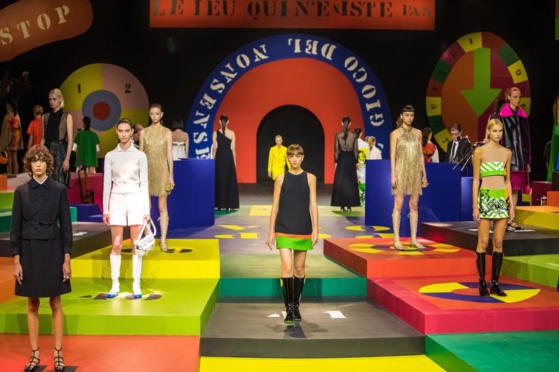 desfile de Dior